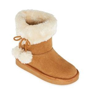 Okie Dokie NWT Amber Cognac Girls Boots Size 1